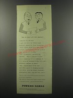 1955 Powers-Samas punched-card equipment Ad - Now we know all the answers