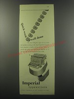 1955 Imperial 66 Typewriter Advertisement - Quick work well done
