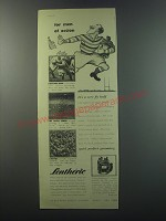 1955 Lentheric Three Musketeers Ad - For men of action