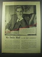 1955 Daily Mail Ad - My Daily Mail by Sir John Barbirolli