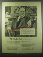 1955 Daily Mail Ad - My Daily Mail by Simon Elwes