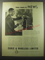 1955 Cable & Wireless Limited Ad
