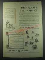 1930 Grinnell Company Ad - Thermolier for instance