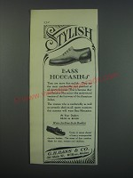 1930 G.H. Bass Moccasins Ad - Stylish