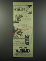 1957 Spillers Winalot Dog Food Ad - Nourishing Winalot then on goes gravy