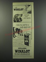 1957 Spillers Winalot Dog Food Ad - I spy Winalot and freshly cooked