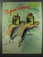 1957 Yardley Perfumed Colognes Advertisement