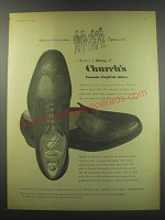 1957 Church's Shoes Ad - Raglan and Tuscan