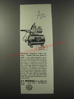 1957 A.Y. McDonald Series 4100 Adapto-Jet Water System Advertisement