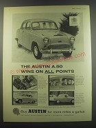 1957 Austin A.50 Ad - The Austin A.50 wins on all points