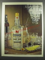 1957 Booths Gin Ad - Booth's Finest Dry Gin 70 Proof London
