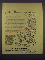 1957 Liverpool Corporation Ad - Mr Maior & the Baliffs in Liv'pul