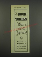 1957 Book Tokens Ad - Book Tokens what a clever gift idea