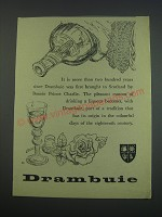 1957 Drambuie Liqueur Ad - It is more than two hundred years since Drambuie