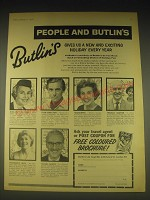 1962 Butlin's Ltd Ad - People and Butlin's gives us a new and exciting holiday