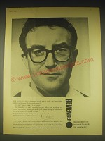 1962 Advertising Industry Ad - Peter Sellers - Remember Road Accidents