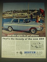 1962 Austin A60 Car Ad - Get the style to go places