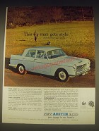 1962 Austin A110 Car Ad - This man gets style but not at any price