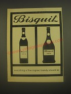 1962 Bisquit Cognac Ad - Bisquit everything a fine cognac brandy should be