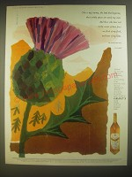 1960 Grant's Scotch Advertisement - art by FHK Henrion - This is my country