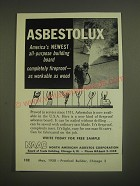 1958 NAAC North American Asbestos Corporation Advertisement