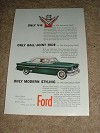 1954 Ford Ad, Only V-8 in Low-Price Field!!!