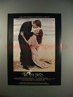 1983 The Thorn Birds Movie Ad - Richard Chamberlain & Rachel Ward!