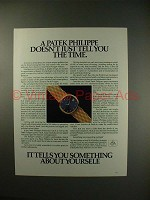 1983 Patek Philippe Self-winding, Mechanical, with Date Watch Ad!