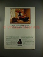 1984 Mamiya M645 camera Ad - Without Breaking the Bank!