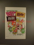1986 M&M Candy Ad w/ Characters as a Marching Band!