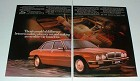 1986 2-page Jaguar XJ6 Car Ad - Executive Car!