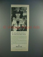 1956 Rolex Watch Ad - Men Who Guide Destinies!