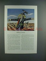 1942 Travelers Insurance Ad w/ American Crow