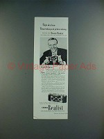1950 Stereo Realist Camera Ad w/ Fred Astaire