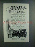 1925 Fada Neutrola-Grand Radio Ad - In the Air