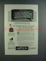 1926 Amplion Patrician, Cone, Dragon Radio Ad!