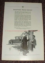 1925 Dodge Car Ad - Exceptional Riding Comfort!!