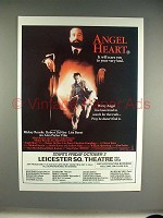 1987 Angel Heart Movie Ad - Robert DeNiro