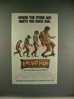1992 Encino Man Movie Ad - Brendan Fraser
