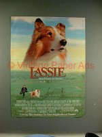 1994 Lassie Movie Ad - Best Friends Are Forever