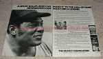 1981 Herst Corporation 2-page Ad, with Willie Mays!!!