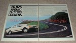 1981 Saab 900 GLS Sedan 2-page Ad, No Cutting Corners!