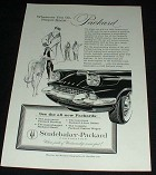 1958 Packard Car Ad, People Know, NICE!!!