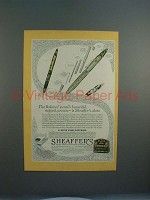 1931 Sheaffer's Balance Pencil Ad - Models HTSC, KGR
