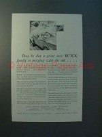 1930 Buick Car Ad - Merging With the Old
