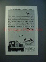 1936 Buick 8 Car Ad - Better Automobiles!