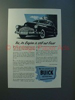 1946 Buick Fireball Straight-Eight Car Ad - Out Front