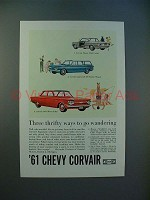 1961 Chevrolet Corvair Monza, Lakewood, 500 Car Ad