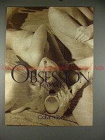 1988 Calvin Klein Obsession for Men Ad!