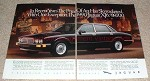 1990 Jaguar XJ6 2-page Ad, Price of Art Skyrocketed!